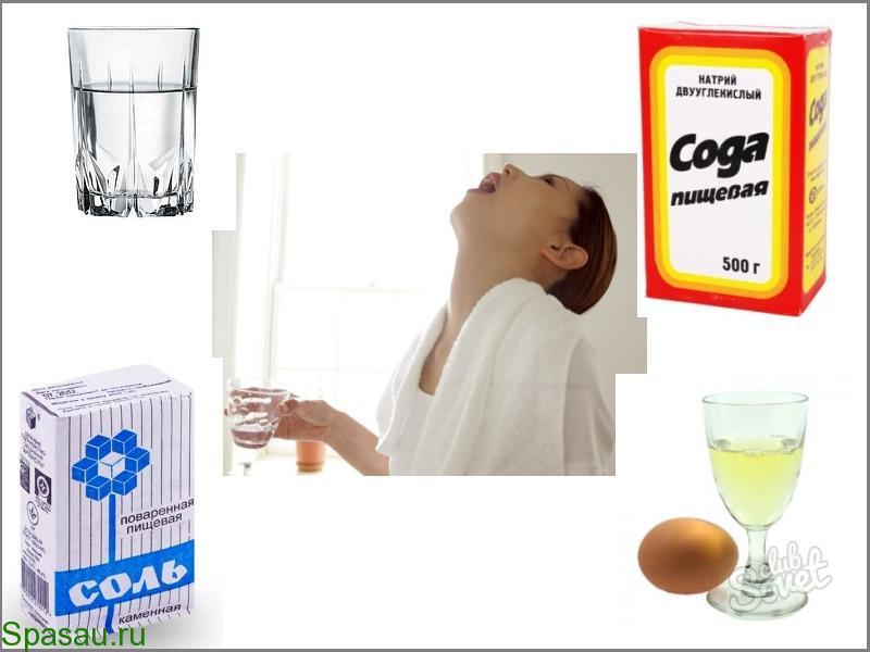 Как лечить горло в домашних условиях антибиотиком