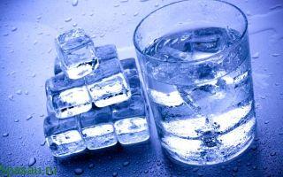 Талая вода польза