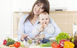 Питание кормящей матери после родов