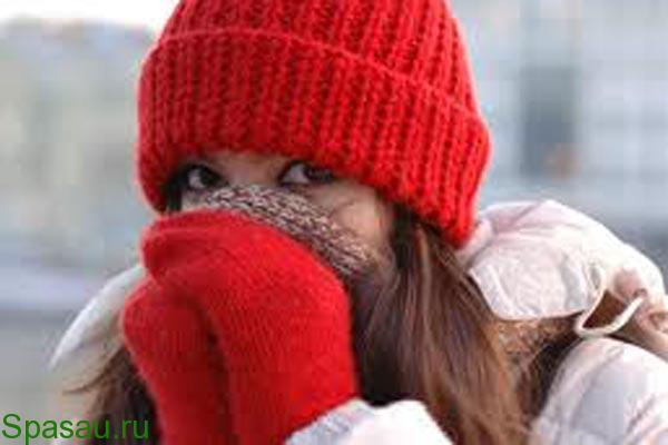 Обморожение: симптомы и первая помощь
